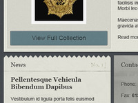 Museum Site News & Button