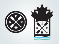 National Paddle Week Unused Logo Concepts