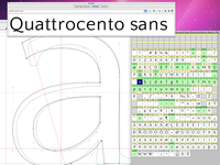 Working on Quattrocento Sans, grotesque