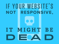 If your website's not responsive...