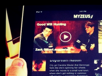 MyZeus on your iPad