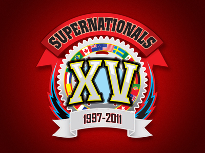 SuperNationals XV Logo