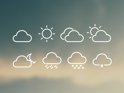 Download 8 Free Weather Icons