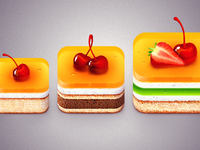 Delicious demonstrative icons