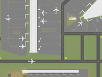 Airport Illustration ~ 1