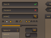 Brownies UI kits