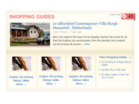 Shopping Guide Widget