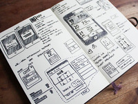 OATBook Initial UI Sketch