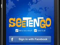WIP Seetengo iPhone app sign-up view