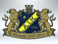 AIK logo with lions