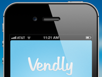 Vendly Login concept