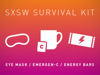 SXSW Survival Kit Rebound