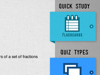 Learning iPad app - Study/Quiz types