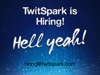 TwitSpark is Hiring