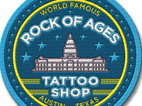 Rock Of Ages Tattoo Patch Design