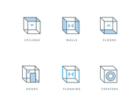 Sound Isolation Icons