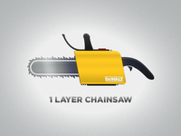 1 Layer Chainsaw