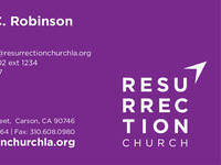 Branding: Resurrection Church