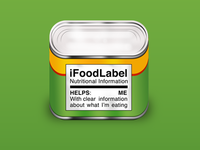 iFoodLabel Icon (color revisions)