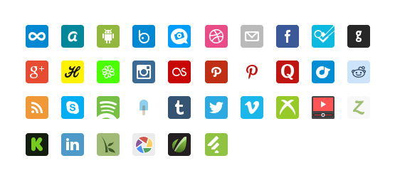 Social-icons-remix