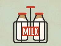 Milk Infographic Icon