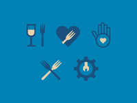 GrubTonight App Iconography