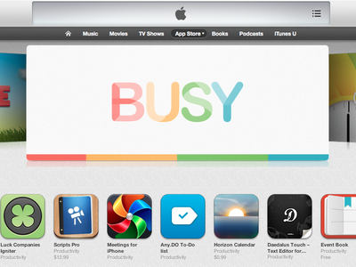 Busy got featured!
