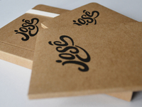 Personalized eco-friendly notebooks.