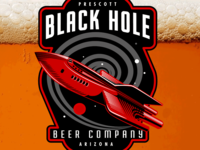 Black Hole Beer Company Logo