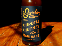 Earls Chipotle Chutney Marinade Bottle