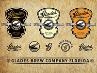Glades Brew Co. Labels