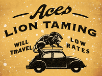 Aces Lion Taming