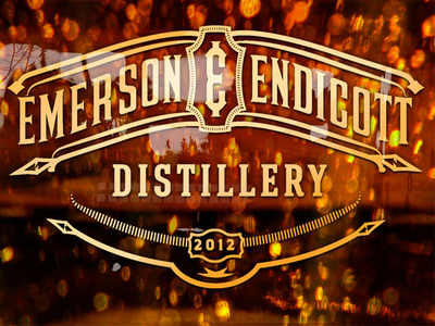 Emerson And Endicott Distillery Sign