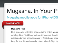 Mugasha Mobile Coming Soon
