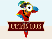 Captainlook Logo Dribbble