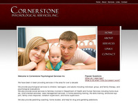 Cornerstone Psych Services Website