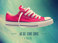 Converse is for hipsters