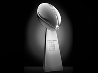 Lombardi Trophy in 3D