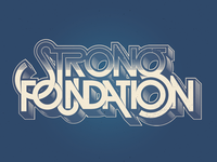 Strong Foundation logotype