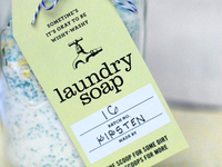 DIY Laundry Soap Tag