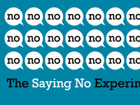 The Saying No Experiment