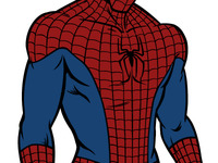 Spiderman Colouring Phase 1