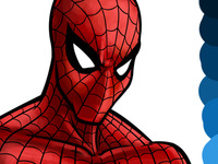 Spiderman Colouring Phase 3