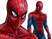 Spiderman Final Illustration