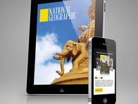 Nat Geo Redesign: Mobile App