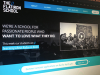 Flatiron School Homepage