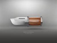 Knife illustration