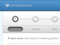 Matchpoint Careers – Employer add a job process