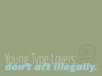 Young type lovers