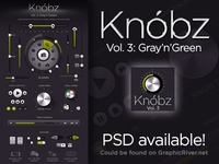 Knóbz Vol.3: Gray'n'Green